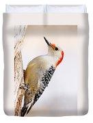 Female Red-bellied Woodpecker 2 Duvet Cover