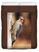 Female Red-bellied Woodpecker 5 Duvet Cover