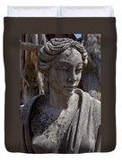 Female Statue Duvet Cover