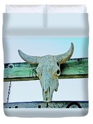 Fence Decor Ranch Style Duvet Cover