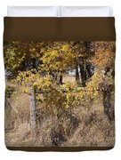 Fence Post Duvet Cover
