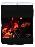 Fender Bender Duvet Cover by Bob Christopher