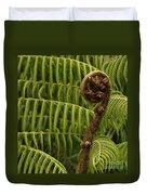 Fern Palm New Zealand Duvet Cover
