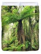 Fern Tree Duvet Cover