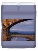 Fernbridge And The Moon Duvet Cover