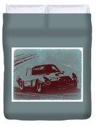 Ferrari Gto Duvet Cover by Naxart Studio