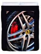 Ferrari Shoes Duvet Cover