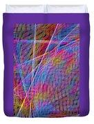 Ferris Tracings 630 Duvet Cover
