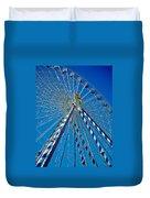 Ferris Wheel - Nuremberg  Duvet Cover by Juergen Weiss