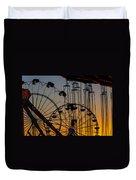 Ferris Wheels Duvet Cover