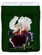 Festive Iris Duvet Cover