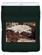 Fez Tannery Duvet Cover