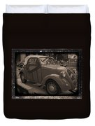 Fiat Dream Car Duvet Cover
