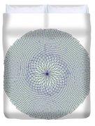 Fibonacci Web Duvet Cover