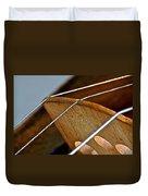 Fiddle Strings Duvet Cover