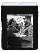 Fidel Castro Duvet Cover