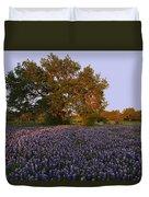 Field Of Blue Duvet Cover