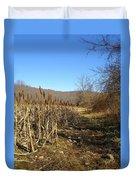 Field Of Corn Duvet Cover