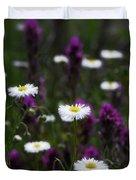 Field Of Spring Flowers Duvet Cover