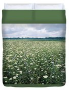 Field Of Wildflowers, Montezuma Duvet Cover