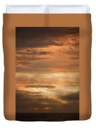 Fiery Atlantic Sunrise 2 Duvet Cover
