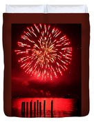 Fiery Fourth Duvet Cover by Peter Mooyman