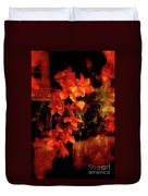 Fiery Ladies Duvet Cover