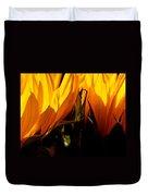 Fiery Sunflowers Duvet Cover