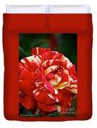 Fiesta Rose Duvet Cover