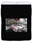 Fifties Drive In Duvet Cover