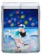 Figure Skater 16 Duvet Cover