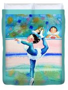 Figure Skater 19 Duvet Cover