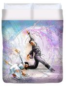 Figure Skating 02 Duvet Cover