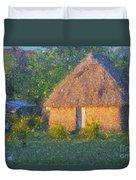 Fijian Bure Duvet Cover