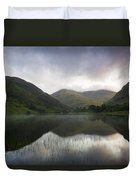 Fin Lough, Delphi Valley, Co Galway Duvet Cover