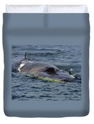 Fin Whale Charging Duvet Cover