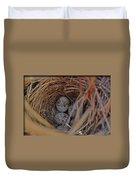 Finch Nest With Eggs  Duvet Cover