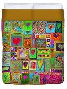 find U'r Love found    v15 Duvet Cover