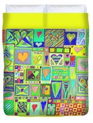 find U'r Love found    v18 Duvet Cover