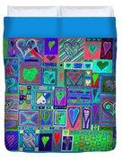 find U'r Love found    v13 Duvet Cover