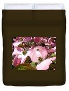 Fine Art Prints Pink Dogwood Flowers Duvet Cover