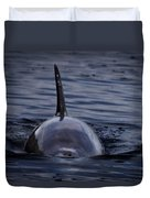 Fins Up Duvet Cover