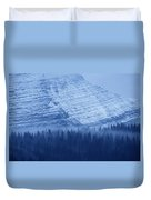Fir And Spruce Tower Over The Forest Duvet Cover