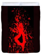 Fire Dance Duvet Cover