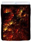 Fire-flowers Duvet Cover