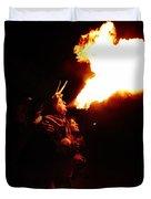 Fire Girl Duvet Cover