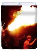 Fire Stroke Duvet Cover