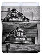 Fireman - Fire Helmets Duvet Cover