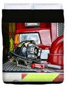 Fireman - Helmet Duvet Cover