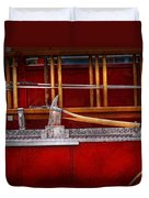 Fireman - Nice Axe  Duvet Cover by Mike Savad